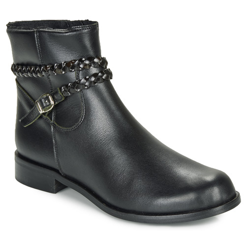 Shoes Women Mid boots So Size OSCARDO Black