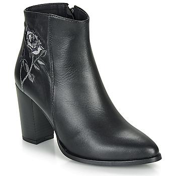 Shoes Women Ankle boots So Size BORDELO Black