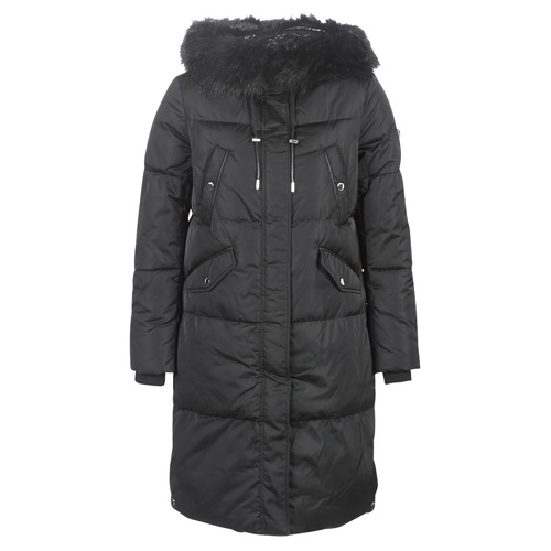 Clothing Women Duffel coats Guess ROXIE Black