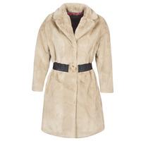 Clothing Women coats Guess SHELLY Beige