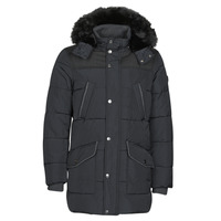 Clothing Men Parkas Guess WINTER PUFFA Black