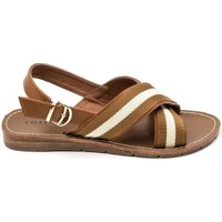 Shoes Women Sandals Chattawak sandales 7-TIFFANY Camel Brown