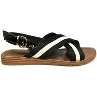 Shoes Women Sandals Chattawak sandales 7-TIFFANY Noir Black