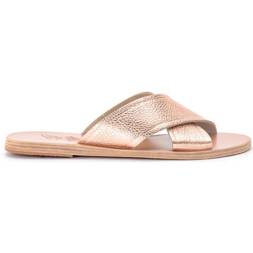 Shoes Women Sandals Ancient Greek Sandals Ciabattina Thais in pelle rosa Pink