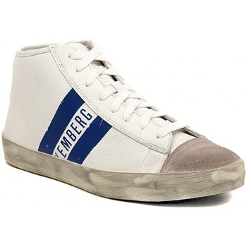 Bikkembergs  TWENTIFIVE MID  WHITE  mens Shoes (Hightop Trainers) in multicolour