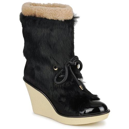 Shoes Women Ankle boots Sonia Rykiel HAIRY Black