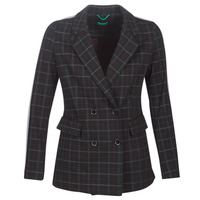 Clothing Women coats Benetton SUDIDEL Black