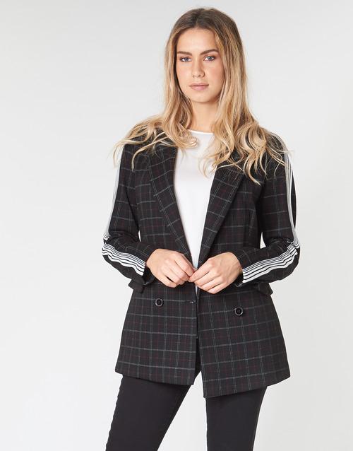 Clothing Women coats Benetton SUDIDEL Black