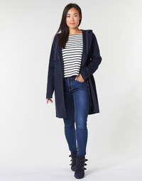 Clothing Women Coats Benetton SACRIPANE Marine