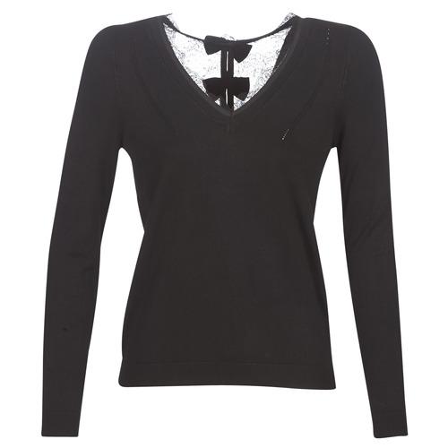Clothing Women Jumpers Naf Naf MITOU LONG NEW Black
