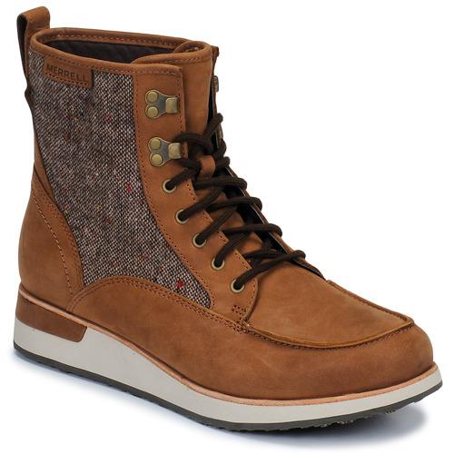 Shoes Women Mid boots Merrell ROAM MID Brown