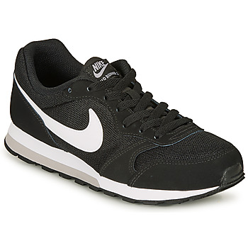 Shoes Children Low top trainers Nike MD RUNNER 2 GRADE SCHOOL Black / White
