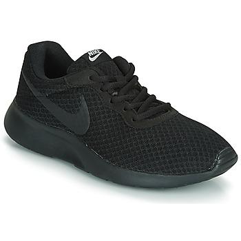 Shoes Women Low top trainers Nike TANJUN W Black