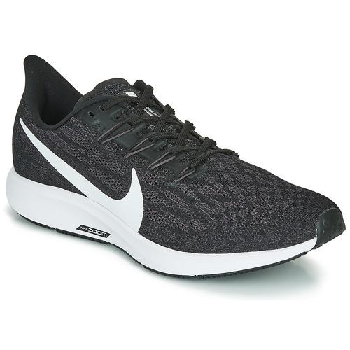 Shoes Men Running shoes Nike AIR ZOOM PEGASUS 36 Black / White
