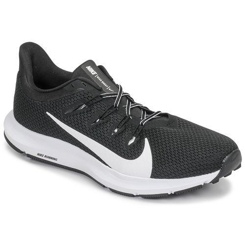 Shoes Men Running shoes Nike QUEST 2 Black / White
