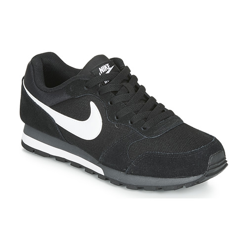 Shoes Men Low top trainers Nike MD RUNNER 2 Black / White