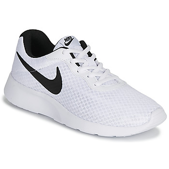Shoes Men Low top trainers Nike TANJUN White / Black
