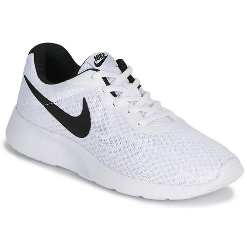 Shoes Men Low top trainers Nike TANJUN White / Black