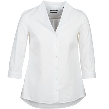 Clothing Women Shirts Marc O'Polo ALESSIA White