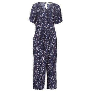 Clothing Women Jumpsuits / Dungarees Cream GERMINA Marine