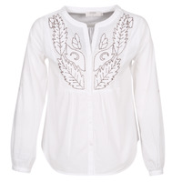 Clothing Women Tops / Blouses Cream JOLINA White