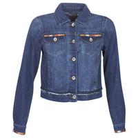 Clothing Women Denim jackets Cream DIWA Blue