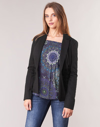 Clothing Women Jackets / Blazers Desigual KENDALL Black