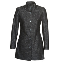 Clothing Women coats Desigual SIMONE Black