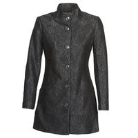 Clothing Women Coats Desigual SIMONE Black