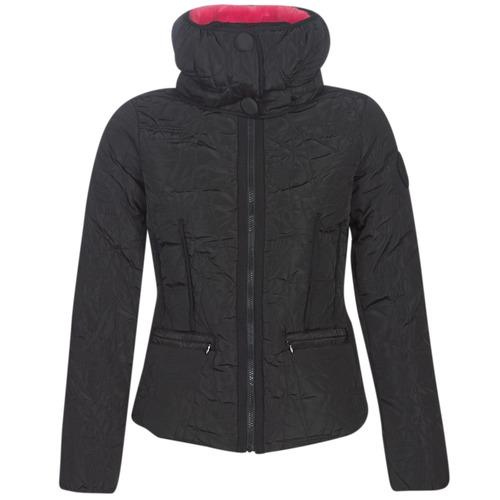 Clothing Women Duffel coats Desigual BRISTOL Black