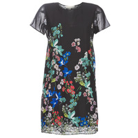 Clothing Women Short Dresses Desigual LORETHA Multicoloured