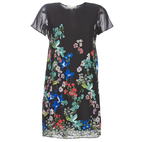 Clothing Women Short Dresses Desigual LORETHA Multicolour