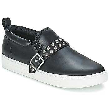 Shoes Women Slip-ons Marc by Marc Jacobs CUTE KICKS KENMARE Black