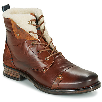 Shoes Men Mid boots Redskins YOUDINE Brown