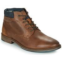 Shoes Men Mid boots Redskins JAMILO Brown