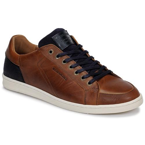 Shoes Men Low top trainers Redskins OSTAN Cognac / Marine
