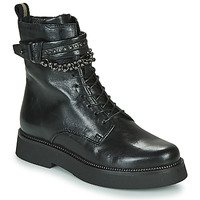 Shoes Women Mid boots Mjus TRIPLE STRAP Black