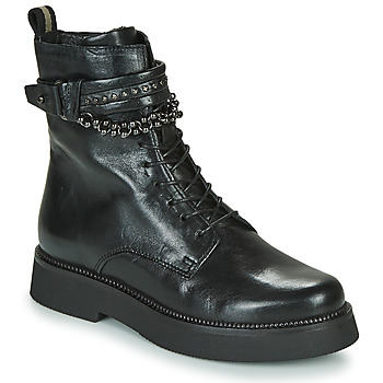 Shoes Women Mid boots Mjus TRIPLE STRAP Black