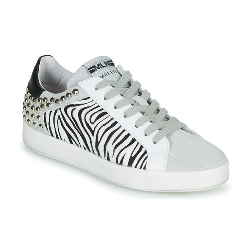 Shoes Women Low top trainers Meline MOLI Beige / Zebra