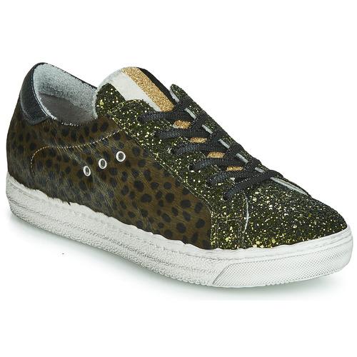 Shoes Women Low top trainers Meline MILLE Kaki