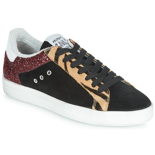 Shoes Women Low top trainers Meline ZEBRINO Black