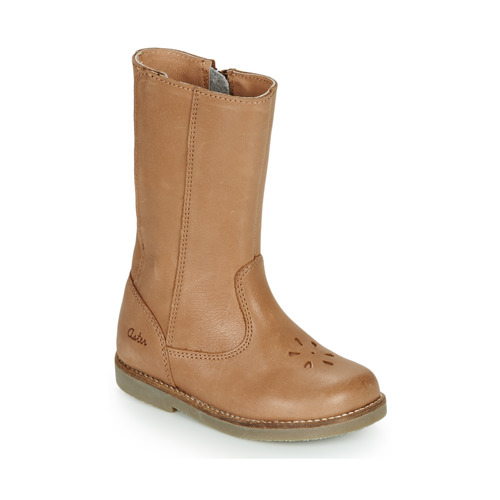 Shoes Girl High boots Aster SENDRA Camel