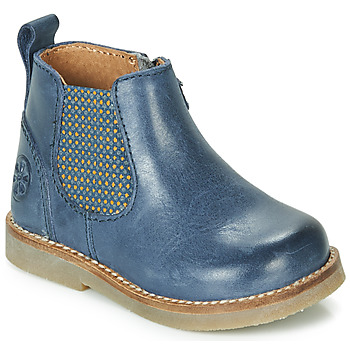 Shoes Children Mid boots Aster STIC Blue