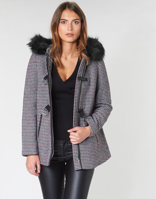 Clothing Women Coats Morgan GRITO Grey