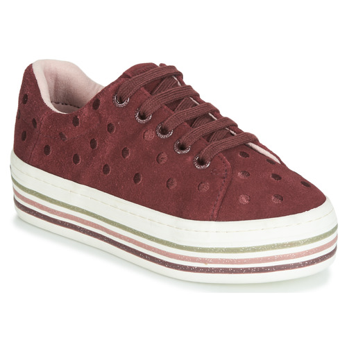 Shoes Girl Low top trainers Gioseppo FUSSEN Bordeaux