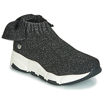 Shoes Girl Hi top trainers Gioseppo DIEST Black / Glitter