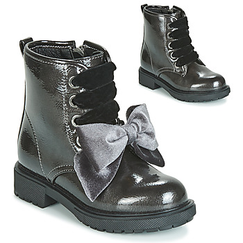 Shoes Girl Mid boots Gioseppo LEHRE Grey