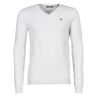 Clothing Men jumpers Teddy Smith PIKO White