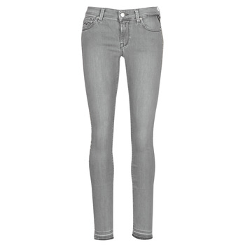 Clothing Women Slim jeans Replay LUZ Grey