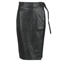 Clothing Women Skirts Replay W9310-000-83468-098 Black